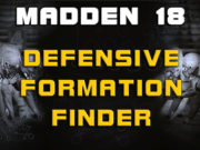 defensive ormation finder madden 18